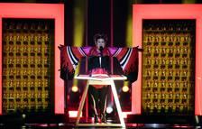 La favorita en las apuestas, la cantante israelí Netta Barzilai