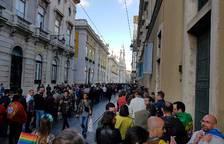 El centro de Lisboa se encuentra colapsado a unos minutos de la gran noche
