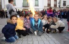 Aoiz: hogueras en la víspera de San Isidro