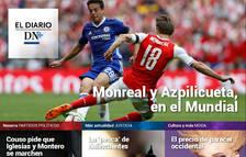 Dos navarros, en el Mundial de fútbol, en el Diario DN+