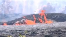 Las erupciones del volcán Kilauea (Hawai) se intensifican y se ha activado en nivel máximo de alerta