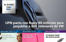 El Diario DN+: Esparza y Rajoy pactan un acuerdo presupuestario para prejubilaciones en VW Navarra