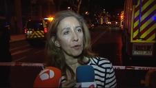 Búsqueda contrarreloj de los dos obreros desaparecidos tras el derrumbe de un edificio en Madrid