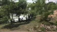 Un avión queda partido en dos tras estrellarse en Honduras