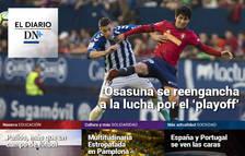 La victoria de Osasuna, en el Diario DN+