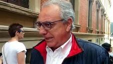 Miguel Sanz, en la manifestación contra la política lingüística del Gobierno de Barkos