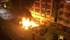 Incendio en Iturrama
