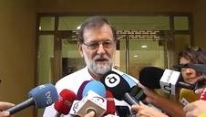 Rajoy se incorpora al trabajo sin nervios: