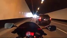 Un motorista circulaba a 258 km/h por la Costa Brava