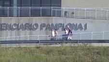 Tres de los integrantes de La Manada abandonan la cárcel de Pamplona