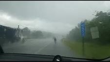 Iriberri desafía a la lluvia