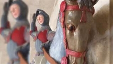 Polémica restauración de un San Jorge en la localidad navarra de Estella