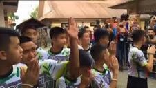 Los doce niños tailandeses que sobrevivieron en la cueva ya tienen el alta médica