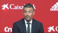 Presentación de Luis Enrique como seleccionador nacional