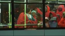Llegan 154 migrantes a Málaga rescatados por Salvamento Marítimo