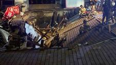 Pánico tras desplomarse un muelle durante un concierto en Vigo