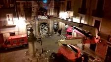 Policía Foral desaloja el gaztetxe Maravillas
