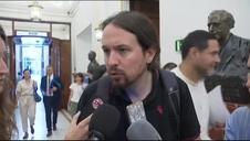 Iglesias pide la dimisión de Delgado por su presunta relación con Villarejo