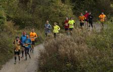 La Roncesvalles-Zubiri congrega a 700 corredores bajo una ligera lluvia