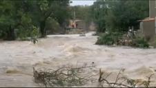 Graves inundaciones en el sur de Francia, cerca de Carcassone