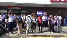 El gobierno de Ortega reprime con dureza una marcha de la oposición en Nicaragua