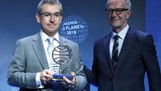 Santiago Posteguillo ganador del Premio Planeta 2018 por la novela 'Yo, Julia'