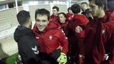 Osasuna Genuine entrena con Rubén García antes de iniciar su temporada en Tarragona