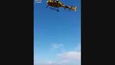 Rescate de la montañera fallecida en San Donato