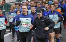 Fotos de la carrera celebrada este domingo en Pamplona.