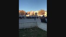 Larga espera de los aficionados de Osasuna para comprar entradas en Albacete