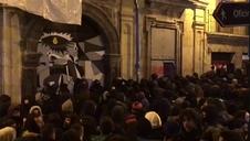 Vídeo de la entrada de los okupas en Rozalejo