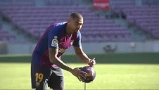 Kevin Prince Boateng, presentado como nuevo jugador del FC Barcelona