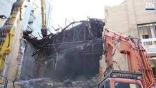 Derribo del edificio de los cines Carlos III