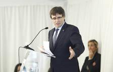 Carles Puigdemont, en un acto en Madrid.
