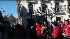 Los rojillos animan las calles de Soria