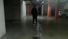 Inundado un garaje en Zizur Mayor