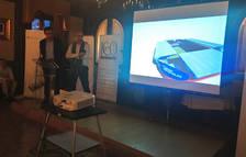 Presentación del proyecto 'Fortaleza Rojilla', a cargo de Mikel Zabalza y Miguel Á. Alonso.