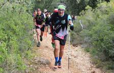 Participantes en la V Jurramendi Trail durante la prueba.