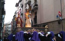 Imagen del paso de 'La Cruz a Cuestas'.
