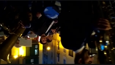 La Pamplonesa toca Mater Mea a su paso por Caldereria