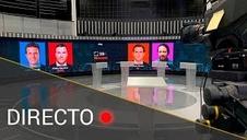 El debate a cuatro en RTVE, en directo