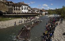 Día de la Almadía en Burgui
