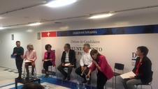 Así ha sido la retransmisión en vídeo del debate con los candidatos de Pamplona en Diario de Navarra