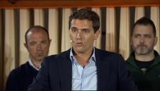 Rivera lamenta en Estella que el Congreso y el Senado vayan a estar presididas por un partido