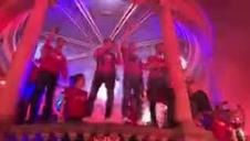 La celebración de Osasuna, en directo