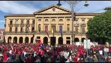 En directo: recepciones oficiales al C.A. Osasuna tras el ascenso