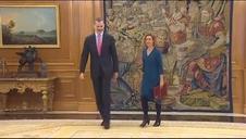 El rey recibe en La Zarzuela a los nuevos presidentes de las Cámaras