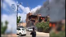 Cinco detenidos por un incendio en los juzgados de Ibiza