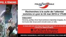 Continúa la búsqueda del autor de la explosión en Lyon
