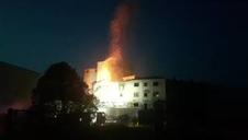 Incendio en la harinera de Olaz (II)